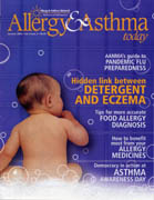 Allergy and Asthma Today Magazine feature story cover